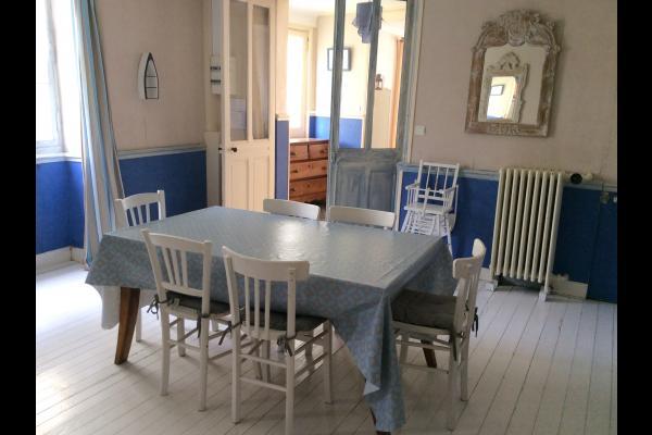 Salle à manger - Location de vacances - Saint-Aubin-sur-Mer
