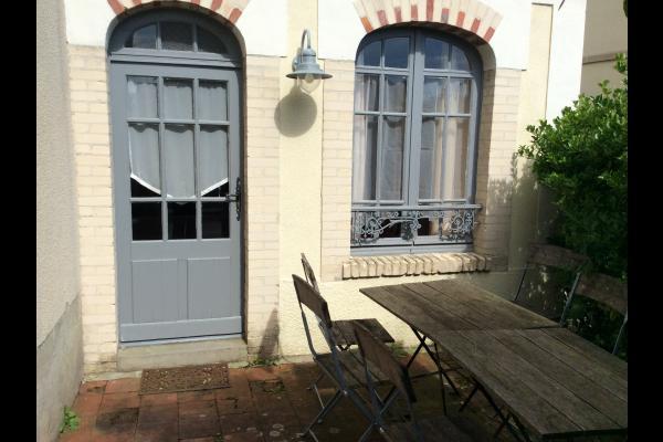 Terrasse extérieure - Location de vacances - Saint-Aubin-sur-Mer