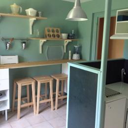 cuisine - Location de vacances - Saint-Aubin-sur-Mer
