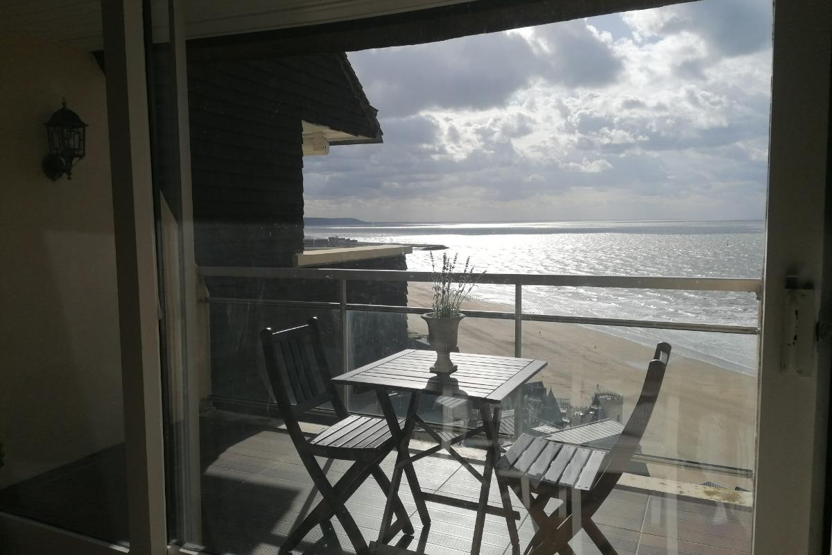 Chambre lit double - Location de vacances - Trouville-sur-Mer