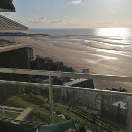 Vue depuis la terrasse - Location de vacances - Trouville-sur-Mer