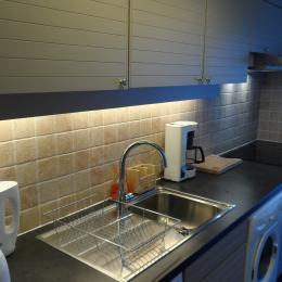 Salon depuis la terrasse - Location de vacances - Trouville-sur-Mer