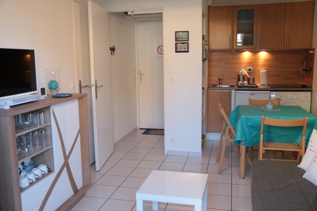 La pièce à vivre - Location de vacances - Cabourg