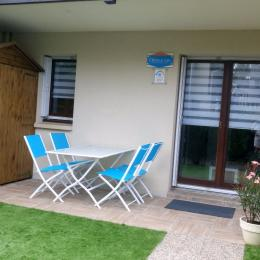 la terrasse - Location de vacances - Cabourg