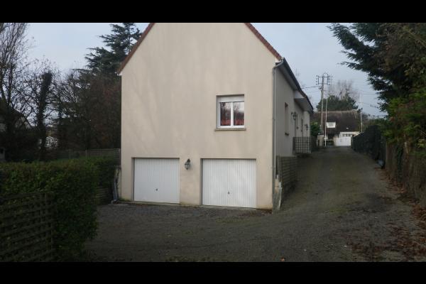 accès parking et garages - Location de vacances - Port-en-Bessin-Huppain