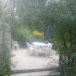 terrasse gite mer - Location de vacances - Port-en-Bessin-Huppain