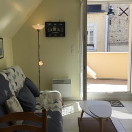 Coin salon - Location de vacances - Arromanches-les-Bains