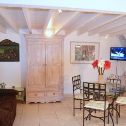 Grand salon-pièce à vivre - Location de vacances - Deauville