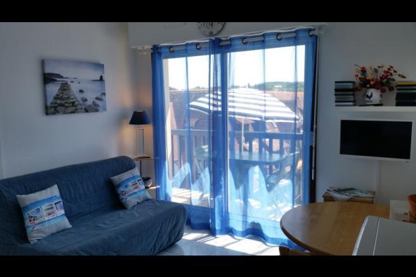 Salon avec BZ 140 x 190 - Location de vacances - Villers-sur-Mer