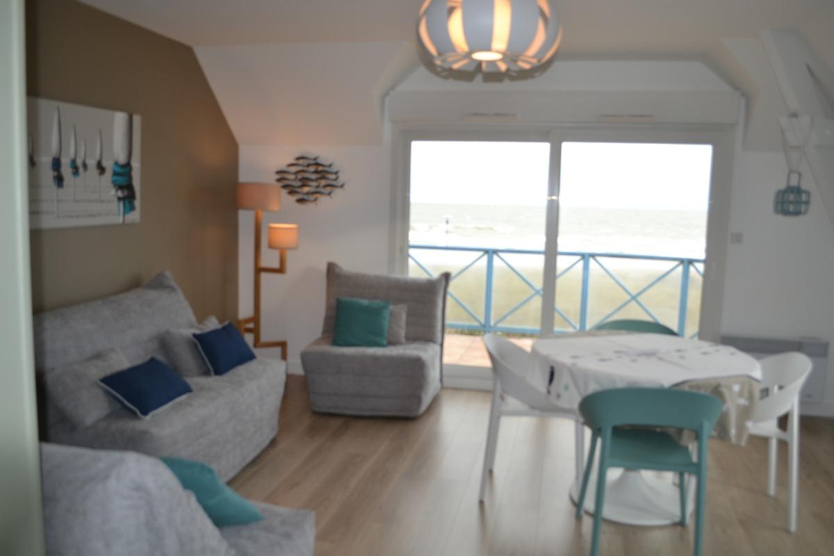 Appartement front de mer ouistreham riva bella plage du - Chambre d hotes ouistreham riva bella ...