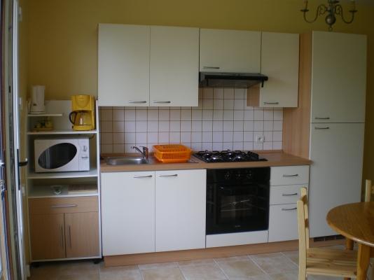cuisine aménagée - Location de vacances - Sainte-Honorine-des-Pertes