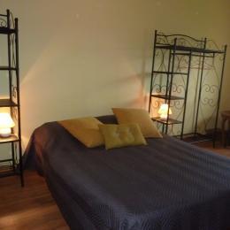 chambre lit 140 - Location de vacances - Sainte-Honorine-des-Pertes