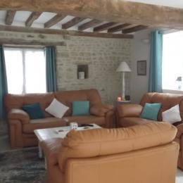 Le coin salon - Location de vacances - Asnières-en-Bessin