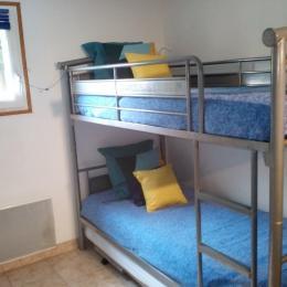 Chambre 1 Lit de 140 - Location de vacances - Bonneville-la-Louvet