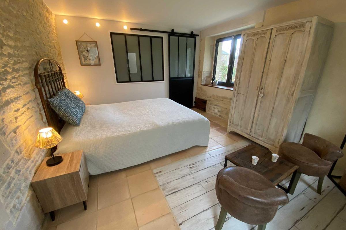 Chambre Côté Sud - Chambre d'hôtes - Ver-sur-Mer
