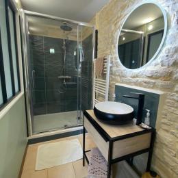 La salle d'eau  - Chambre d'hôtes - Ver-sur-Mer