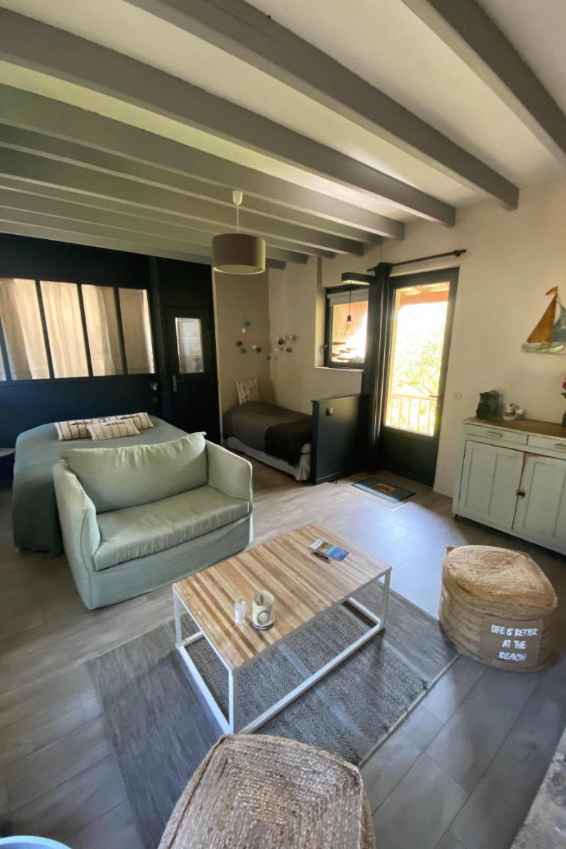 Vue de la maison  - Chambre d'hôtes - Ver-sur-Mer