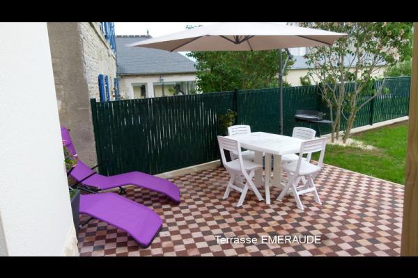 Terrasse - Location de vacances - Saint-Côme-de-Fresné