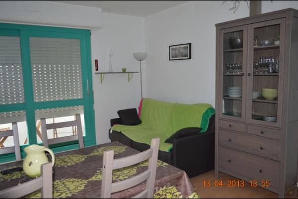 salon et salle à manger - Location de vacances - Courseulles-sur-Mer