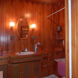 Salle de bains avec WC - Location de vacances - Trouville-sur-Mer