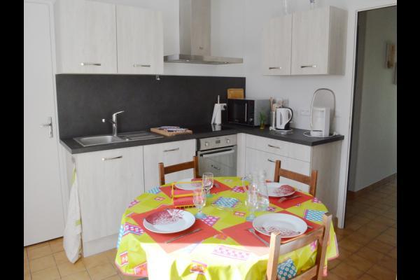 la cuisine - Location de vacances - Cintheaux