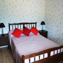 chambre n° 2 (1 lit 190 x 140) - Location de vacances - Cintheaux
