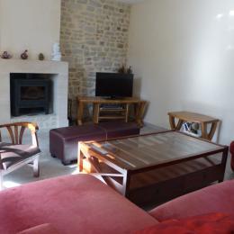 Salon - Location de vacances - Mandeville-en-Bessin