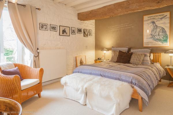 Chambre Saint Exupery - Chambre d'hôtes - La Cambe