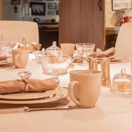 Petit déjeuner  - Chambre d'hôtes - La Cambe