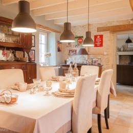 Cuisine - Chambre d'hôtes - La Cambe