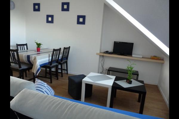 Salon - Location de vacances - Honfleur