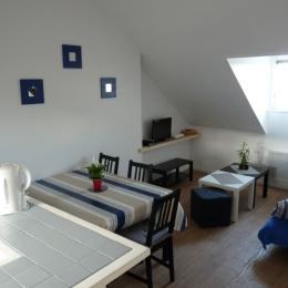 Pièce à vivre - Location de vacances - Honfleur