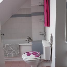 Salle de bain - Location de vacances - Honfleur