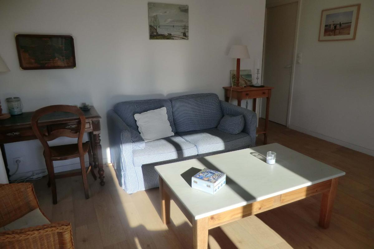 Le salon - Location de vacances - Bernières-sur-Mer