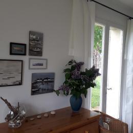 Détail du salon - Location de vacances - Bernières-sur-Mer