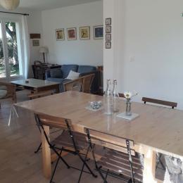 Vue d'ensemble du salon et de la salle à manger - Location de vacances - Bernières-sur-Mer