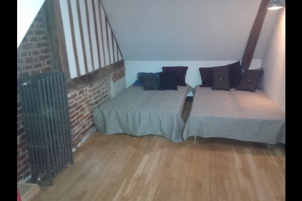 Le dortoir 3/4 couchages avec TV Internet (pour enfants, ado) - Location de vacances - Honfleur