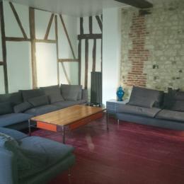 Le salon  - Location de vacances - Honfleur