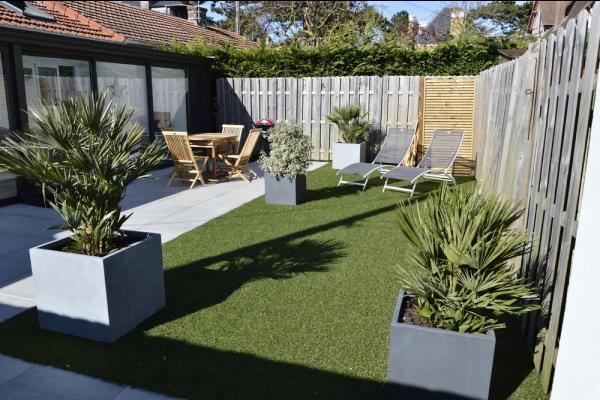 Terrasse ensoleillée et clôturée - Location de vacances - Cabourg