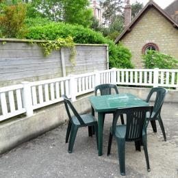 Terrasse - Location de vacances - Houlgate