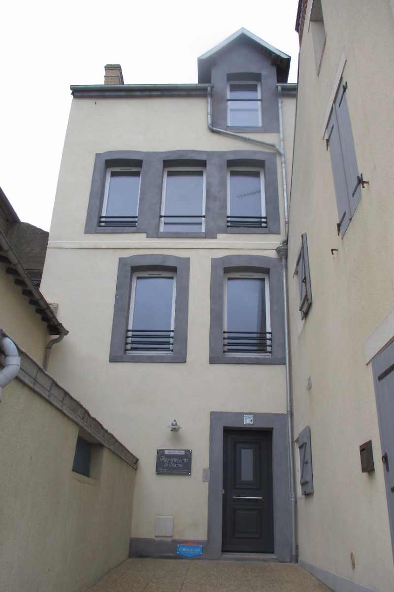 notre immeuble front de mer - Location de vacances - Port-en-Bessin-Huppain