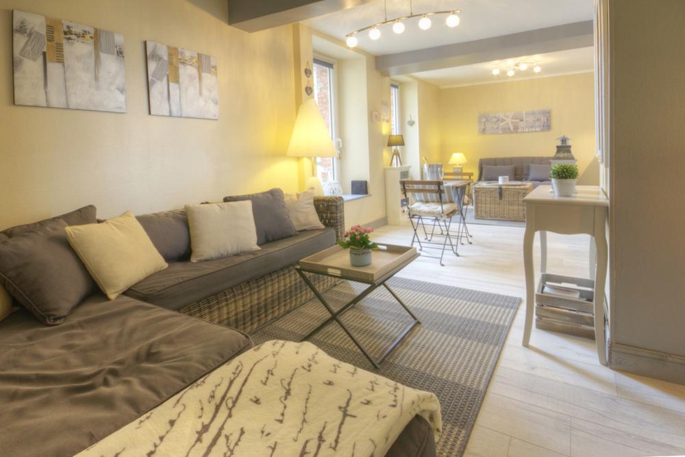 Grand espace de vie - Location de vacances - Port-en-Bessin-Huppain