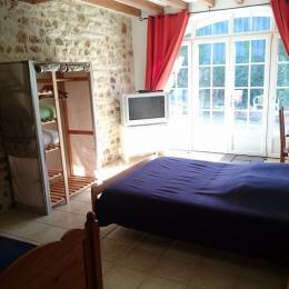 chambre au rez-de-chaussée - Chambre d'hôtes - Fresney-le-Vieux