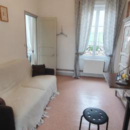 coin salon - Chambre d'hôtes - Courseulles-sur-Mer