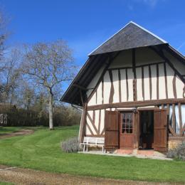 Entrée de la Charretterie - Location de vacances - Les Authieux-sur-Calonne
