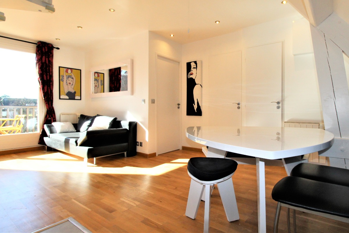 Un séjour moderne et lumineux - Location de vacances - Deauville