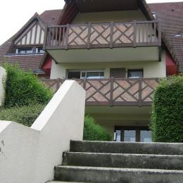Entre de la Résidence  Le Clarysse - Location de vacances - Houlgate