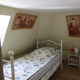 Salle d'eau douche Lavabo et WC - Location de vacances - Houlgate