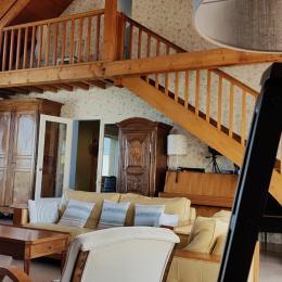 Salon - Location de vacances - Luc-sur-Mer
