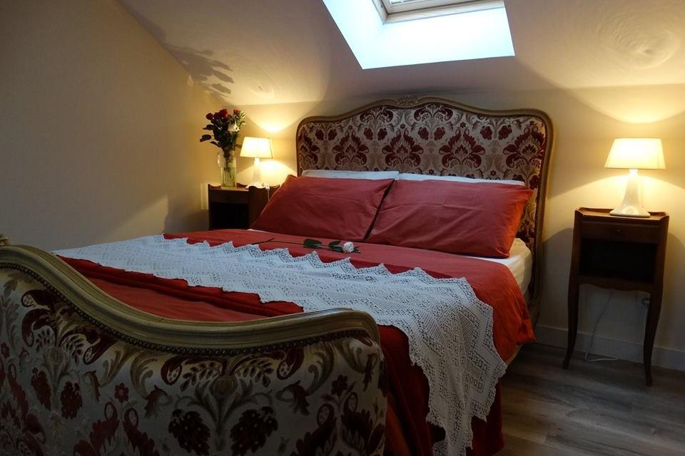 Chambre 1 - 1 lit double - Location de vacances - Donnay